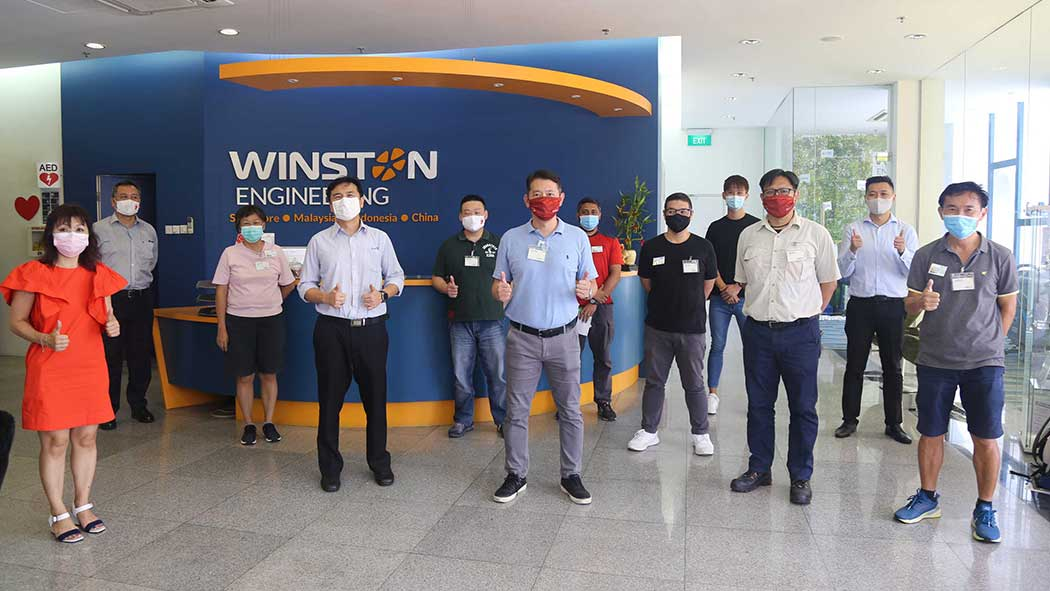 Thank you ActiveSG for visiting Winston Engineering