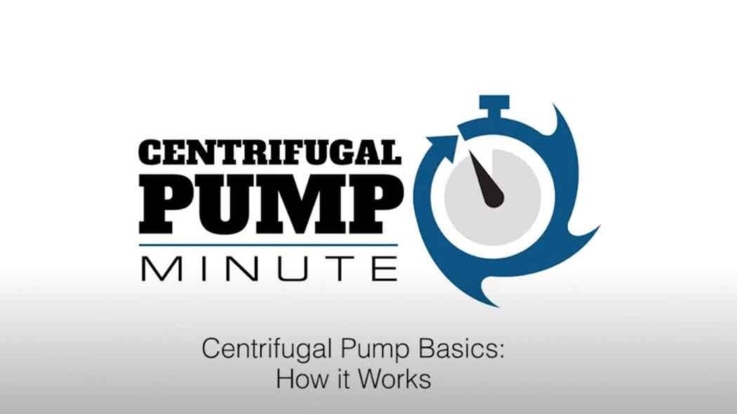 Centrifugal Pump Basics (How it works )